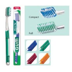 Gum Micro top brosse à dents medium compacte 473 1 unité