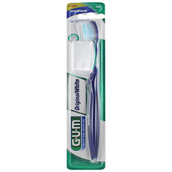 Gum Original White Brosse à dents medium 1 unité
