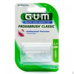 Proxabrush classic brossettes 414 recharges 1.1mm 8 unités