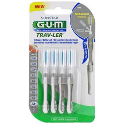 Gum Trav-Ler Brossettes interdentaires 1618 2mm 4 unités