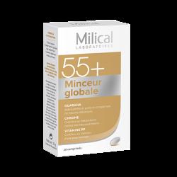 Milical 55+ Minceur globale 28 comprimés