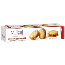 Milical Biscuits chocolat 12 biscuits