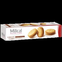 Milical Biscuits chocolat 12 biscuits