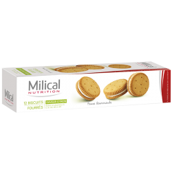 Milical Biscuits citron 12 biscuits