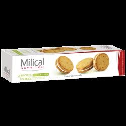 Milical Biscuits citron 12 biscuits
