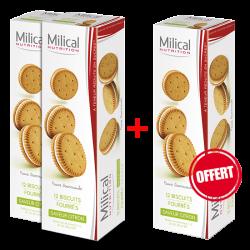 Milical Biscuits citron 12 unités 2+1 offert