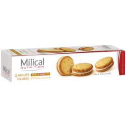 Milical Biscuits noisette 12 biscuits