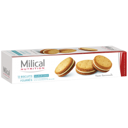 Milical Biscuits noix de coco 12 biscuits