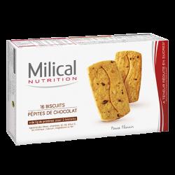 Milical Biscuits pépites de chocolat 16 biscuits