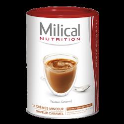 Milical Crème minceur saveur caramel 12 portions 540g