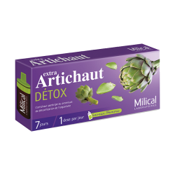 Milical Extra artichaut détox 7x10ml