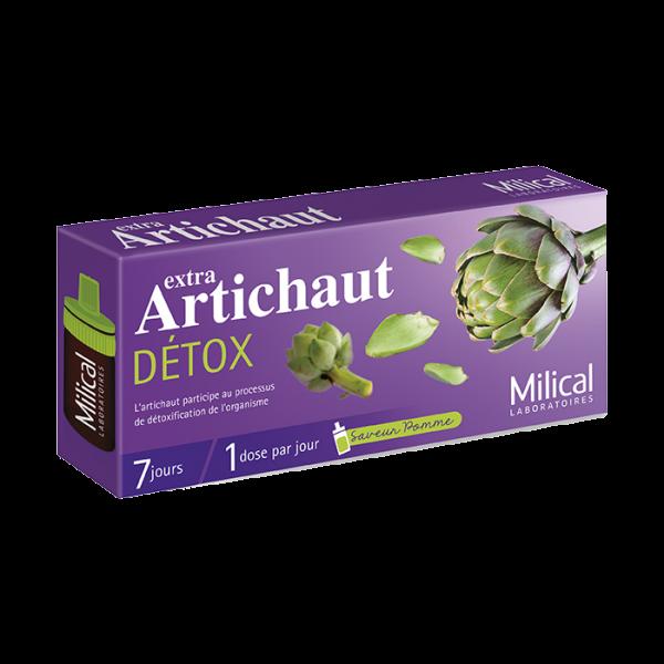 Milical Extra artichaut détox 7x10ml - Paraetpharmacie.com
