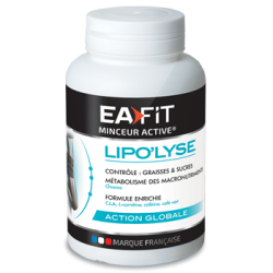 Eafit Lipo'lyse 180 capsules