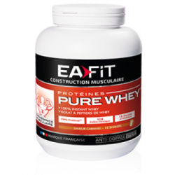 Pure Whey croissance musculaire max fruits rouges 750g