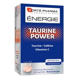 Forte Pharma Energie taurine power 30 comprimés effeverscents