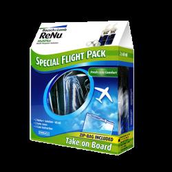 Renu multiplus mps pack voyage avion 2x60ml + 2 étuis