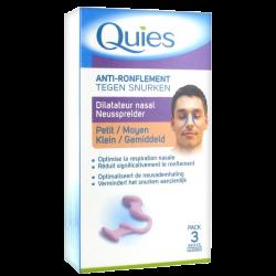 Quies Anti-ronflemet Dilatateur nasal petite taille 1 unité
