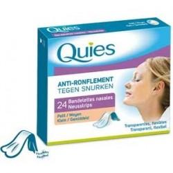 Bandelettes nasales anti-ronflement transparente petit x24