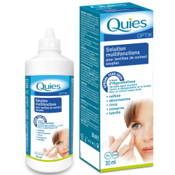 Quies Optik Lentilles de contact souples 30ml