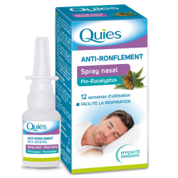 Quies Anti-ronflement Spray nasal 15ml