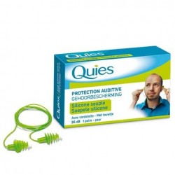 Quies Protection auditive avec cordelette 1 paire