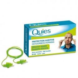 Quies Protection auditive avec cordelette 1 paire