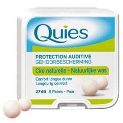 Protection auditive cire naturelle 8 paires