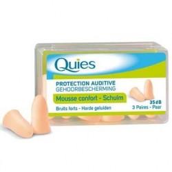 Quies Protectection auditive mousse chair 3 paires