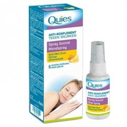 Quies Spray buccal anti ronflement goût miel citron 70ml