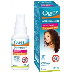 Quies Spray répulsif anti-poux et lentes 100ml