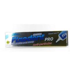 Fixodent Crème fixative appareils dentaires anti-particules 40g