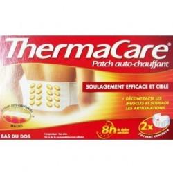 Thermacare Patch auto chauffant bas du dos 2 unités