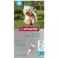 Advantix Antiparasitaire externe petit chien 4 pipettes