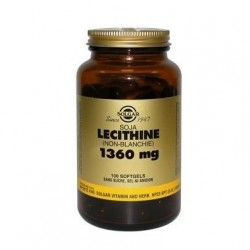 Solgar Lécithine (soja) (non blanchie) 1360mg 100 softgels