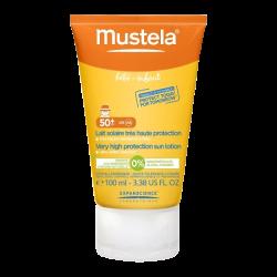 Mustela Solaire Lait très haute protection SPF50+ 100ml