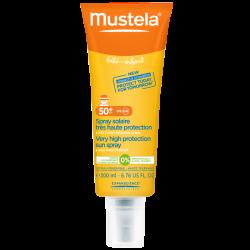 Mustela Solaire Spray solaire Très haute protection 200ml