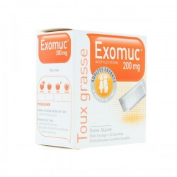 Bouchara Exomuc orange 200mg 24 sachets
