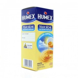 Humex sirop adulte toux sèche 200ml
