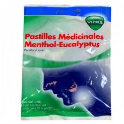 Pastilles médicinales Vicks menthol eucalyptus 30 pastilles