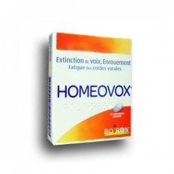 Boiron Homeovox 60 comprimés