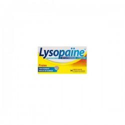 Lysopaïne Cetylpyridinium Lysozyme Fraise Sans Sucre 18 Comprimé