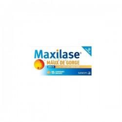 Maxilase alpha amylase 3000 U CEIP 15 comprimés enrobés