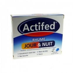 Actifed Rhume Jour et Nuit 16 comprimés
