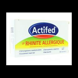 Actifed LP Rhinite Allergique 10 comprimés