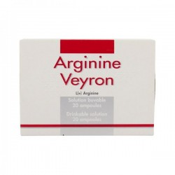 ARGININE VEYRON solution buvable en ampoule