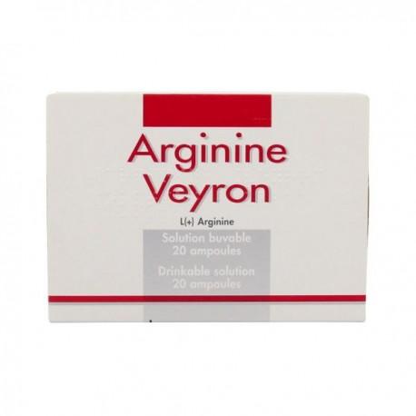 ARGININE VEYRON solution buvable en ampoule