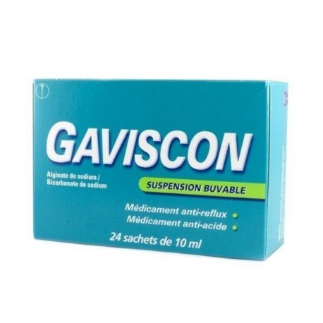 Gaviscon Suspension buvable 24 sachets