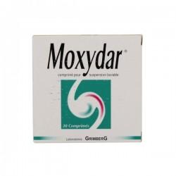 Moxydar comprimé suspension buvable Brûlures d'estomac