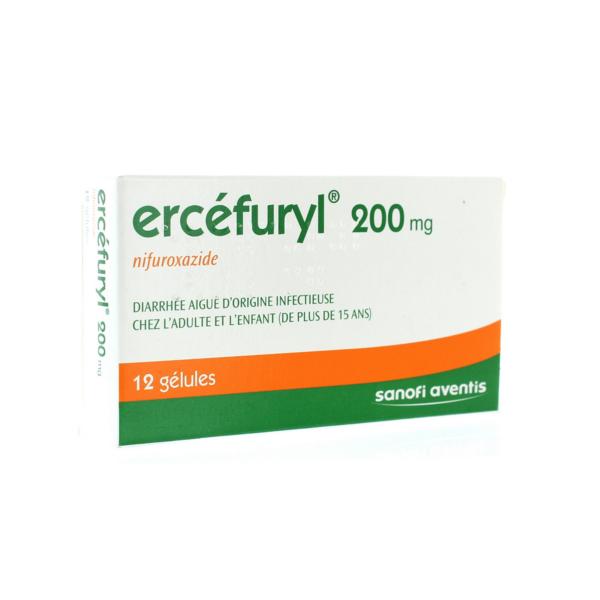 Ercefuryl 200mg 12 gélules - Paraetpharmacie com