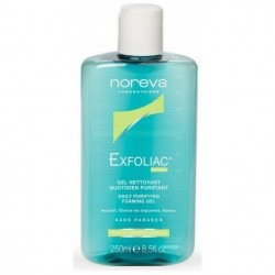 Noreva Exfoliac gel quotidien purifiant 250ml